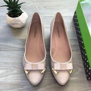 NEW Kelly & Katie Nude Heels, Dress Shoes Flats